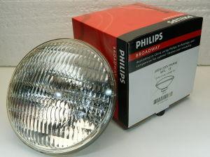 Lampada Philips PAR56 230V 300W  flood 25°  GX16D