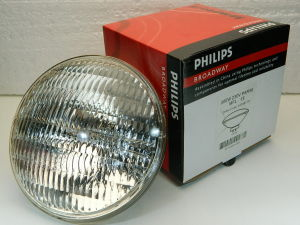 Light bulb Philips PAR56 230V 300W  flood 25°  GX16D