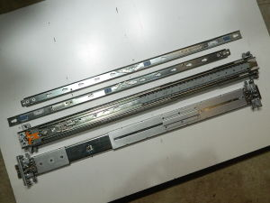 Rail kit rack mount KING SLIDE 374516-001 + Inner rack slide 374506 revD HP proliant server
