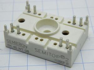 SK45WT08 Semikron doppio diodo SCR antiparallelo 800V 45A