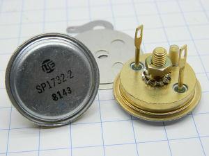 SP1732.2 transistor al germanio, coppia selezionata norme MIL