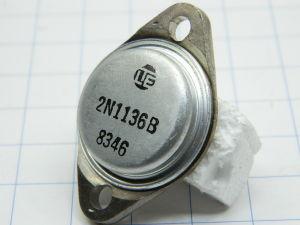 2N1136B transistor al germanio