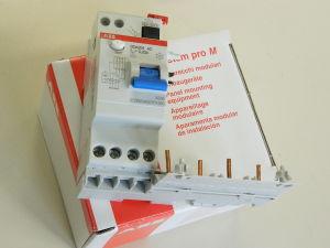 Differential switch ABB DDA204 AC-25/0.03A   System pro M
