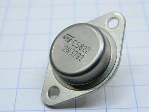 2N3792 transistor Si PNP 80V 10A 150W