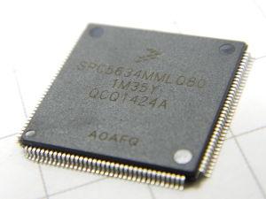 SPC5634 MMLQ80 microcontroller 32bit 1,5Mb flash , Freescale