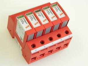 DEHNguard DG M PV2 SCI 1000FM unità modulare completa scaricatore di sovratensioni, 5 posti