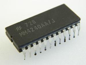 MM4240 AA/J National IC character generator