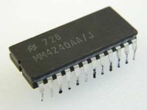 MM4240AA/J National IC character generator