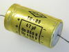 47MF  350/400Vdc capacitor axial MICRO TC-85, audio vintage