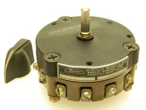 Rotary switch 12 positions , Bendix 10-34740 #