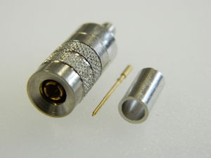 Coaxial connector 1.0/2.3 N3 male cable ST212 (n.5pcs.)