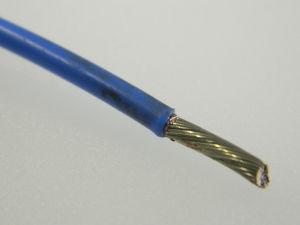 Filo unipolare AWG12 TFZ Tefzel Sn/Ag 2% azzurro