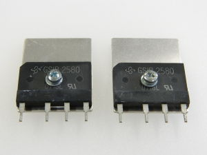 GSIB2580 fast rectifier bridge 800V 25A  (n.2pcs.)