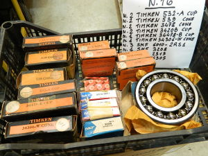 Lot 16pcs.  bearings TIMKEN, SKF , 532-a,539,3478,3420b,34478-b,34306-w,skf,6010-2rs1,3208,2313,