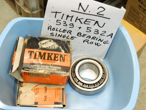 TIMKEN 539+532A roller bearing single row (n.2pcs.)