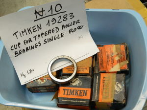 TIMKEN 19283 cup for tapered roller bearing single row ( n.10 pezzi)
