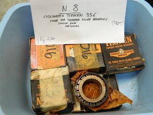 TIMKEN 336 cuscinetto a rulli (n.8 pezzi)