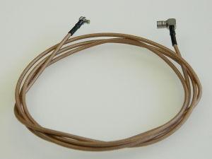 Cavo coassiale SUHNER K02252D, RG316 50ohm  cm.150  , connettori MCX-M/SMB-M