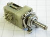 Rotary switch 10 position 1 way, mm. 4