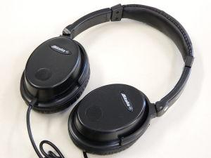 Cuffia professionale stereo Hi Fi  a cancellazione attiva di rumore, ANC active noise cancelling
