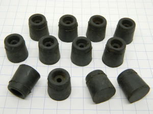 Rubber shock mount mm.20x19 (12pcs.)