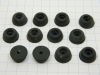 Rubber shock mount mm.17x8 (12pcs.)