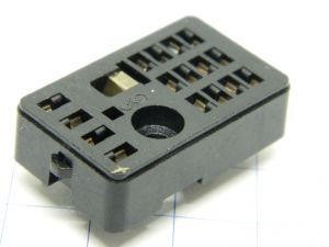 Socket for relay Siemens 16 pin V23154-Z1002, contact for printed circuit