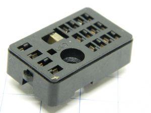 Zoccolo 16 pin per relè  4 scambi SIEMENS , terminali da circuito stampato