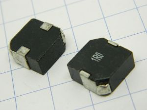 1uH power inductor SMD 20A, mm. 13x13x6,5