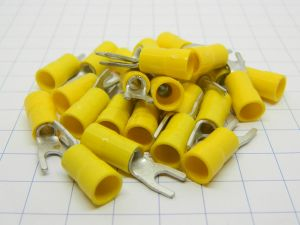 Housings open insulated mm.4,  wire 6mmq. (n.20pcs.)