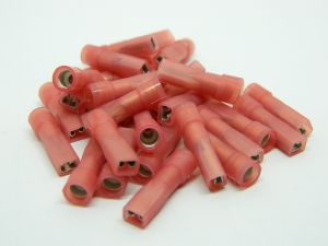 Faston female insulated mm.4 wire 1,5mmq. (n.50pcs.)