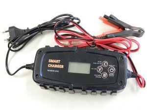 Carica batterie intelligente a microprocessore RK4000,  6/12Vcc 4A  piombo gel e Litio