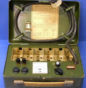 Caricabatterie automatico NiCd militare 6 posti