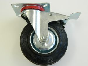 Wheel rotating with brake diam. mm. 120