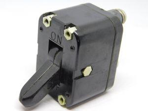 KLIXON D6364  2-60A circuit breaker aircraft 60Adc, interruttore termico ripristinabile