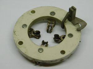 Ceramic tube socket 4 pin