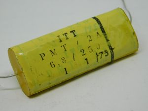 6,8MF 250V capacitor ITT PMT/2A , cross over