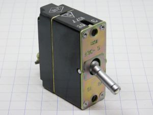 Russian aircraft circuit breaker 10A type VKL A3C-10