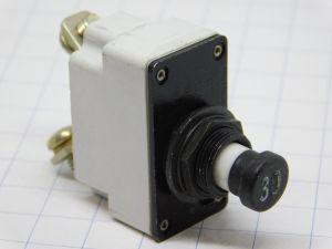 Klixon 7271-8-30 circuit breaker aircraft 30A , interruttore termico ripristinabile