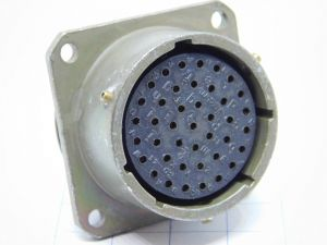 Connector VEAM MS3110P 20-41SX,  41pin  socket female