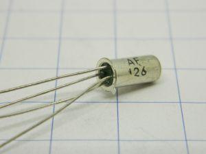 AF126 Germanium transistor PNP, (nos)