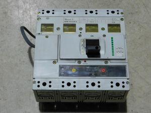 Circuit breaker 4 poles 630A KLOCKNER MOELLER NZM 104-630S