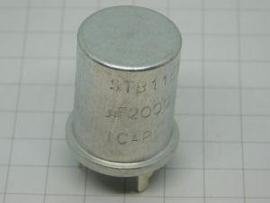 2000uF 15Vcc condensatore elettrolitico ICAR STB11E200/CS, radio valvola vintage