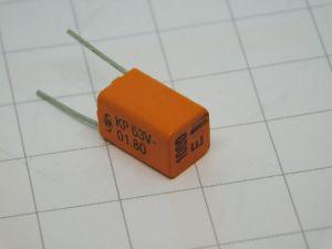 1000pF 63Vcc condensatore di precisione tolleranza 0,5%,  SIEMENS B33531-J5102