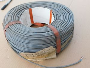 Telephonic cable 1x2x0,6 schielded, reel mt. 250