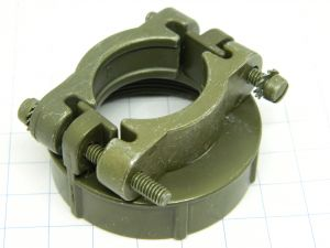 6-20 CANNON connector cable clamp, serracavo