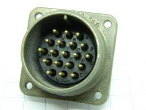 Connettore VEAM AN3400A-22-14P, 19pin maschio da pannello