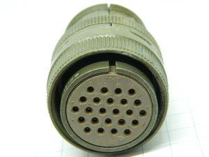 Connector CANNON MS3106B-24-28P , 24pin plug female