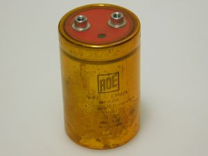 47000MF 16V capacitor ROE computer grade , vintage audio
