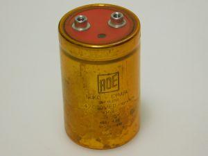 47000uF 16V condensatore elettrolitico ROE computer grade , vintage audio